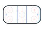 Хоккейная коробка 26х56 HOCK-1.2