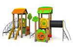 Детский игровой комплекс PE-18201
