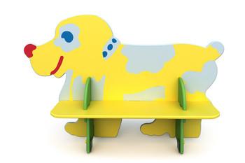 СД-1.21 Детская скамейка Собака