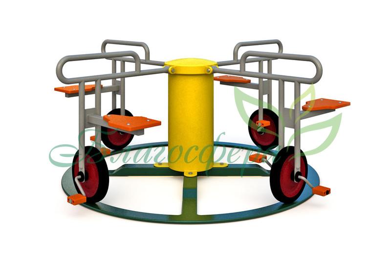 Велокарусель-4 EB-22602
