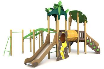 ИКС-БИО-1.2 Детский игровой комплекс