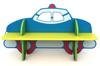 СД-1.12 Детская скамейка Полицейская машина