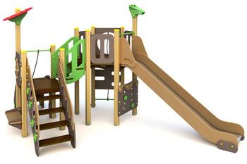 ИКС-БИО-1.16 Детский игровой комплекс