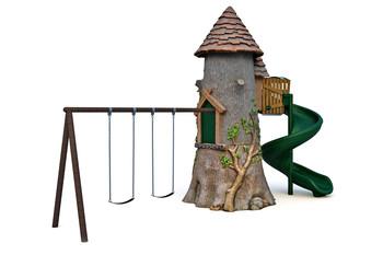 Детский игровой комплекс RN-02602