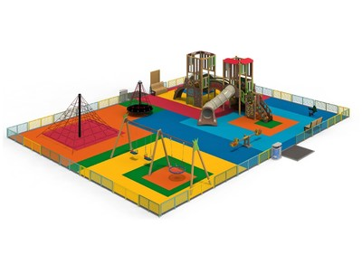 Детская площадка «Ранчо»