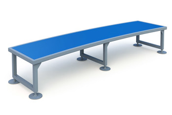 Rounded Bench Элемент для скейт площадки Rounded Bench