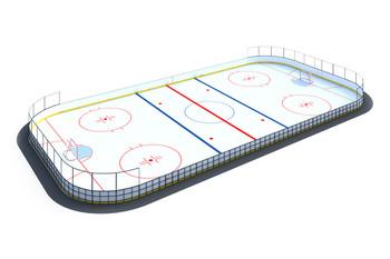 Хоккейная коробка 20х40 HOCK-1.3