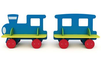 СД-1.15 Детская скамейка Паровозик
