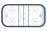 Хоккейная коробка R-7,5м. защитная сетка Н-1500мм за воротами ХОК-1.3