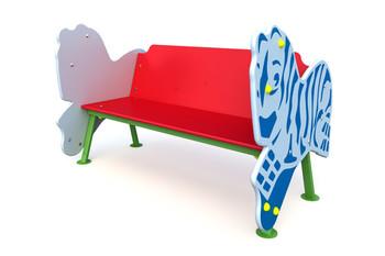 СД-1.2 Детская скамейка Зебра