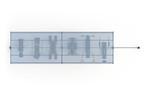 Тренажерная беседка с турником из 6 тренажеров на раме ТРК-1.9