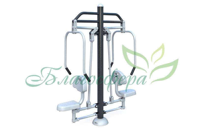 Тренажер двойной Жим от груди FS-24501