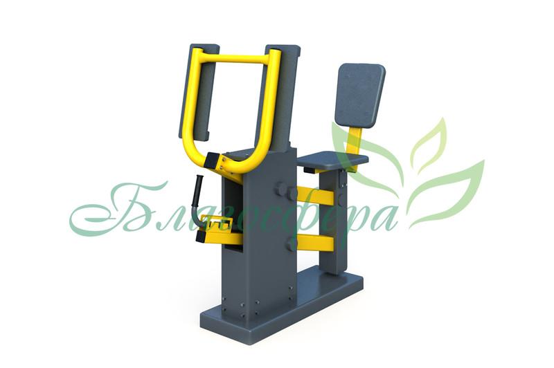 Тренажёр Жим ногами с изменяемой нагрузкой ТР-1.65.1