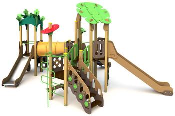 ИКС-БИО-1.4 Детский игровой комплекс