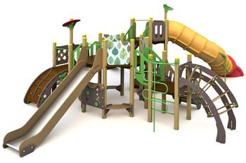 ИКС-БИО-1.8 Детский игровой комплекс