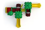 Детский игровой комплекс KID-17401