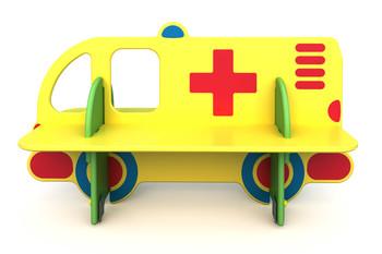 СД-1.13 Детская скамейка Скорая помощь