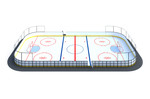 Хоккейная коробка 12х24 HOCK-1.5