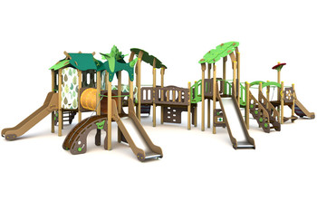 ИКС-БИО-1.6 Детский игровой комплекс