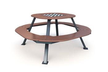 Стол с шахматной доской СТ-1.4