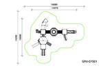 Детский игровой комплекс SPIII-07001