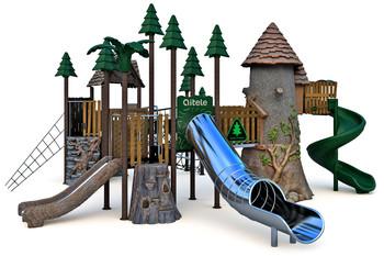 Детский игровой комплекс RN-01801