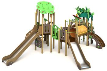 ИКС-БИО-1.7 Детский игровой комплекс