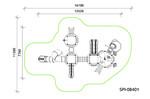 Детский игровой комплекс SPI-08401