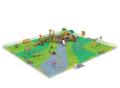 Детская площадка «Лес» 2