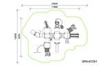 Детский игровой комплекс SPIII-07201
