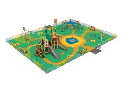 Детская площадка «Лес»