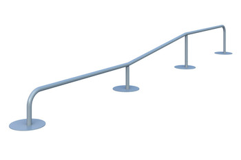 Rail Type C Элемент для скейт площадки Rail Type C