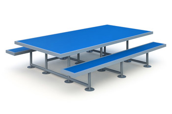 Picnic Table Элемент для скейт площадки Picnic Table